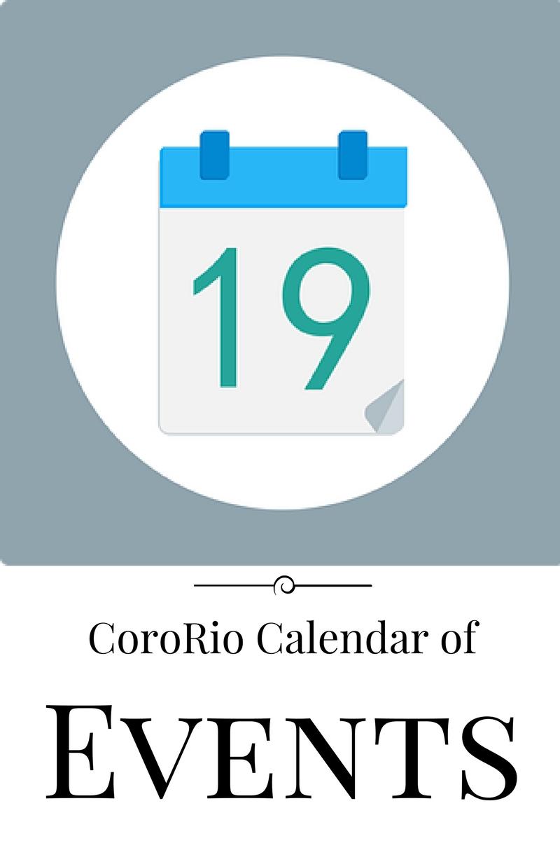CoroRio Calendar of Events