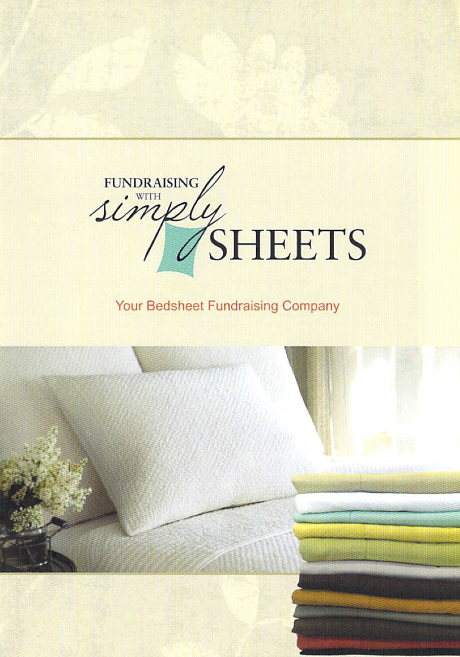Simply Sheets Fundraiser